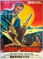 Plakat Kino Western Adios Hombre Craig Hill - 120 X 160 CM