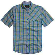 FOX SHIRT SMALL MENS/BOYS FOX RACING MOTO/BMX/MTB SHORT SLEEVE CHECK COTTON NEW