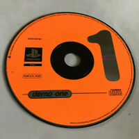 Demo One (1) / Disc Only / Playstation 1 PS1 PS2 SCES-00120