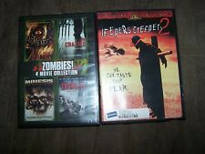 (5) DVD/Movies The Demented, Crazies, Mimesis, The Terror Experiment, Jeepers Cr