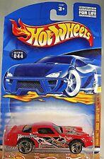 2001 Hot Wheels #44 Fossil Fuel Series 4/4 CAMARO Z-28 Red w/3 Spoke Wheels