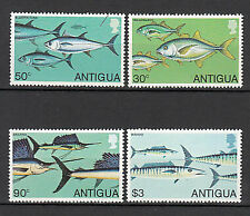 Antique Vintage Mail Yvert 547/50 MNH Fauna Fish