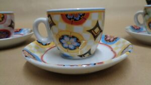 Maxwell and William espresso cups and saucers set of 4,