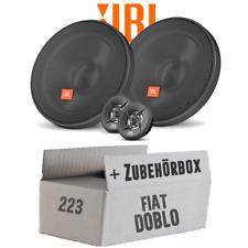 JBL Altoparlante per Fiat Doblo 223 Ant. - 16cm Casse - Auto - Set di Montaggio