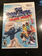 The Smurfs Dance Party (Nintendo Wii, 2011) NEW