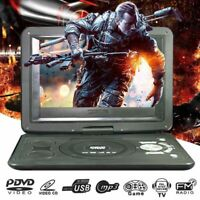 "13.9"" Portable DVD CD Player Game HD 270° Screen Car Region Free USB SD +Remoter"