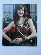 & Winter 2013 New listing Sabika Catalog Fall