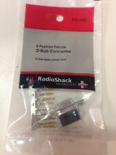 9 • Position • Female D-Sub Connector #276-1428 By RadioShack