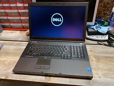 "Dell Precision M6800 Core i5-4200M 2.50GHz 16GB RAM 17.3"" HD+ Laptop 2 SSD - NR"