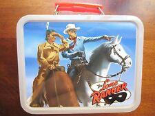 "Lone Ranger Mini Lunch Box, Small Metal Cheerios lunch box 4"" x 5"", new"