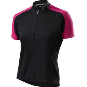 Specialized Women's RBX Sport Short Sleeve Cycling Jersey Small Black/Pink New