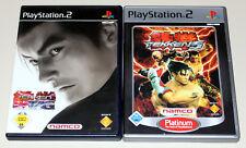 2 PlayStation 2 juegos bundle-Tekken Tag Tournament & Tekken 5