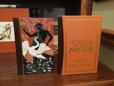 The Greek Myths in 2 Volumes    Folio Society 2011