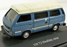 Schuco/Marklin NEW HO 1/87 Volkswagen VW T3 Westfalia Camper Bus in Blue