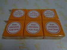 6 BARS PAPAYA KOJIC SOAP WHITENING/BLEACHING/LIGHTENING 70G +TRACKING