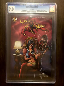 GRIMM FAIRY TALES 49 CGC 9.8 Immaculate Case Paul Roper Cover Zenescope Ent 2010