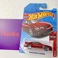 2019 Hot Wheels Nissan Skyline GT-R (BNR33) Nismo Red Jdm Diecast Car