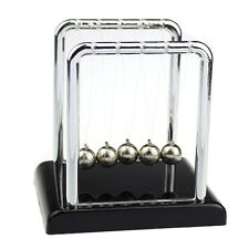 Physics Science Accessory Desk Toy  Newton's Cradle Steel Balance Ball Tide