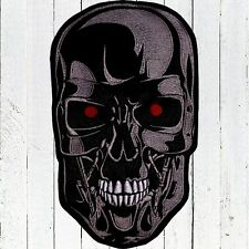 Terminator T-800 Head Embroidered Patch Big Endoskeleton Cyberdyne Arnold Connor