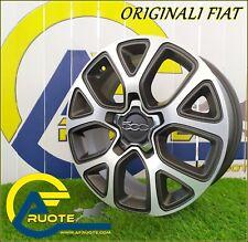 4 Alufelgen Original Fiat Von 17 X Alfa Romeo Giulietta 500X Jeep Renegade