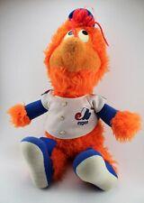 """Vintage MONTREAL EXPOS Baseball Mascot YOUPI 22"""" PLUSH ** 80's MLB RARE L@@K"""