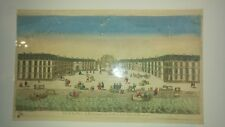 Vue d'Optique de la Place de Bourgogne sur le Port de la Ville de Bordeaux 1762