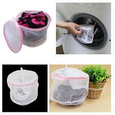 Washing Bra Bag Laundry Underwear Lingerie Saver Mesh Wash Basket Aid Net Pink