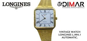Vintage Longines L.994.1 Automatic. Plating Gold Calendar To The 3. AÑO.1960