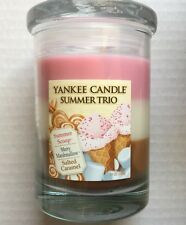 Yankee Candle SUMMER TRIO TUMBLER SUMMER SCOOP MERRY MARSHMALLOW SALTED CARAMEL
