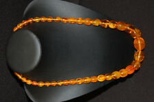 Amber Necklace Real Amber, Length 70CM, 82,6g Very Good Condition