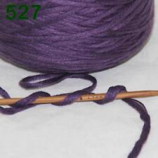 1 Cone 400g Worsted Cotton Chunky Super Bulky Hand Knitting Yarn Indigo