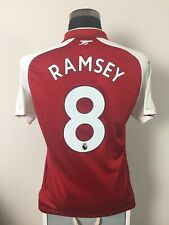 RAMSEY #8 Arsenal Home Football Shirt Jersey 2017/18 (M)