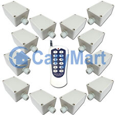 12CH AC 220V Power Output RF Radio Remote Control Switch for Electric gates open