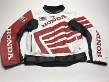 VTG Honda Racing Motorcycle Jacket Men Large Spellout Moto ilove