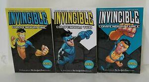 Invincible Compendium Vol 1 2 3 Complete SC Set Image TPB SC Unread New Printing