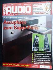 Audio 1/09 QUAD 99 mono, 99 pre, Roksan Serse 20+, Marantz PM 8003, Philips bdp7200