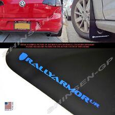 "Rally Armor UR ""Black Mud Flaps Blue Logo"" for 2015+ VW MKVII Golf TSI, GTI"