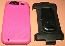 Otterbox Defender case with holster for Motorola Atrix HD, Pink & Black, NEW