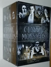 Universal Classic Monsters 30 Movie DVD Box Set Dracula Frankenstein Mummy