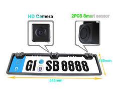 European Car number plate Reverse Camera+Parking Sensors Radar Mercedes VW