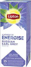 Lipton Russian Earl Grey 25 Enveloped Tea Bags 6 Boxes Imported
