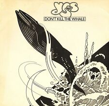 "YES don't kill the whale/abeline K 11184 uk atlantic 1978 7"" PS EX/EX"
