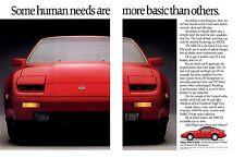 1988 NISSAN / DATSUN 300ZX TURBO  ~  CLASSIC ORIGINAL 2-PAGE PRINT AD