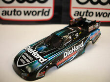 AUTO WORLD ~ NHRA Matt Hagen Die Hard Dodge Charger Body ~ Fits AFX, AW, JL