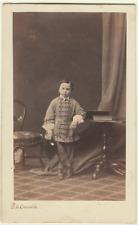 CDV. Enfant. Cliché Chevalier.