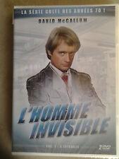 37546// L'HOMME INVISIBLE LA SERIE CULTE ANNEE 70 VOLUME 1 /6 EPISODES DVD