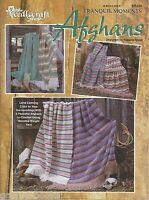 Tranquil Moments Afghans Roberta Maier Crochet Patterns The Needlecraft Shop NEW