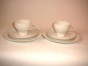 """THOMAS /""""CASA GRAU//SCHWARZ/""""/_/_/_2 Teetassen 4x da exzellente Erhaltung"""