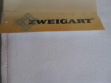 ZWEIGART - 3256  BELLANA  weiß - Stickstoff f. Hardanger + Kreuzstich - 8-fädig