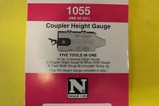 N Scale Micro-Train Couplers  HEIGHT GAUGE #1055  /  988-00-031